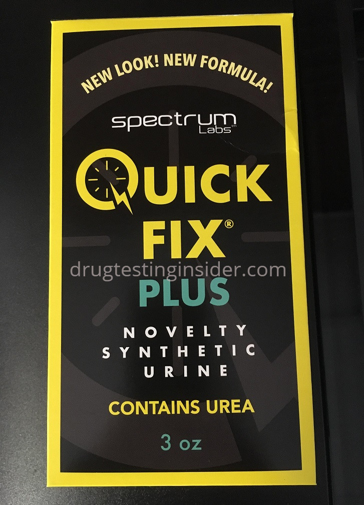 First Official Quick Fix Synthetic Urine Plus 6 2